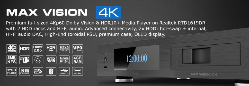 Dune HD max vision 4k